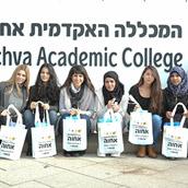 """סטודנטיות המכללה ביקרו יולדות בבית החולים סורוקה  במסגרת פרויקט """"הורה דרך"""""""
